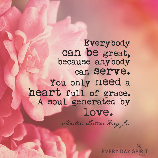 You only need your heart full of grace. #MLKJr #love For the app ...