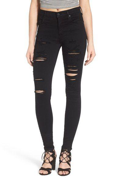 Sophie skinny jeans - Black A Gold E OEVgVi