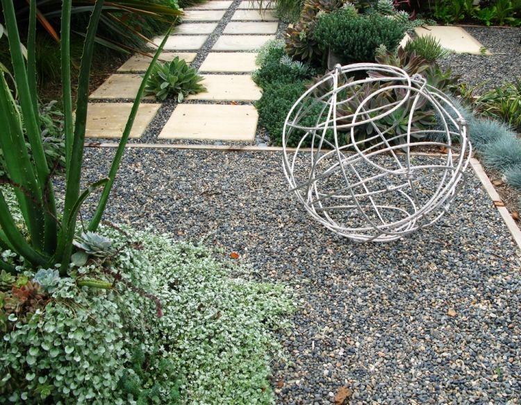 sculpture contemporaine jardin Sculpture contemporaine et autres idées de décoration du jardin