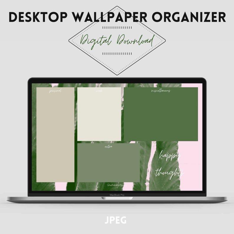 Neutral Vibes Desktop Organizer Wallpaper Organizer Desktop Wallpaper Digital Download Organization Wallpaper 4 Wallpapers In 2021 Desktop Wallpaper Organizer Desktop Organization Desktop Wallpaper