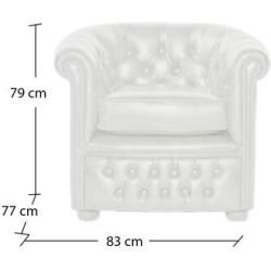 Chesterfield Sessel #craftroommakeovers