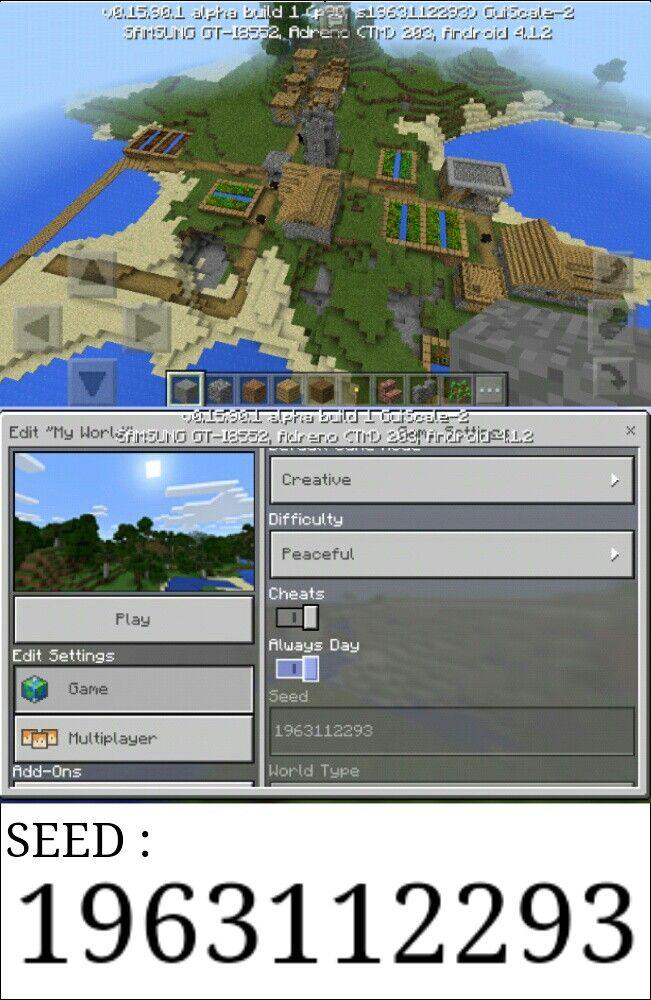 Minecraft village | minecraft | Amazing minecraft, Minecraft