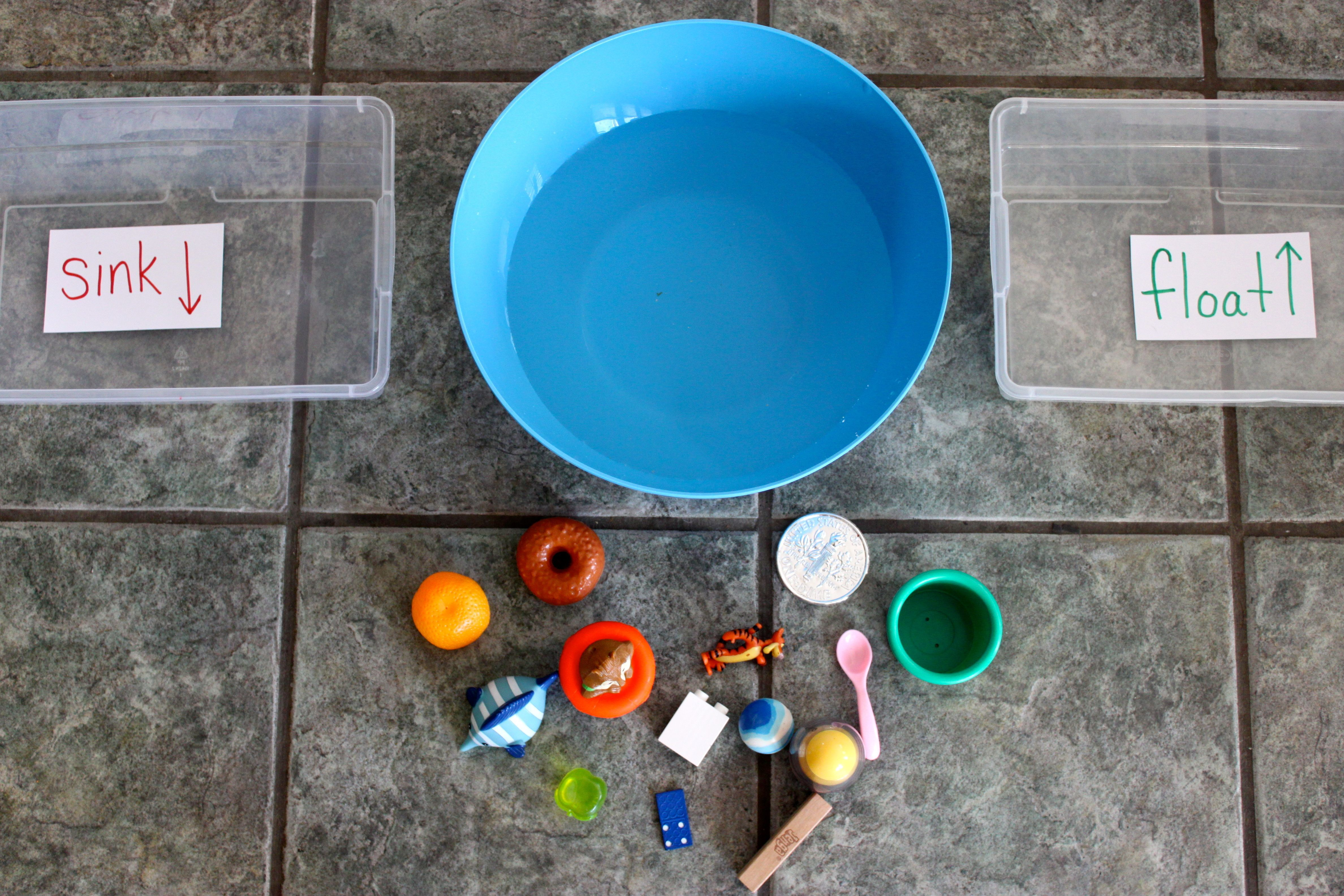 Will Your Toy Sink Or Float This Experiment Is Fun For