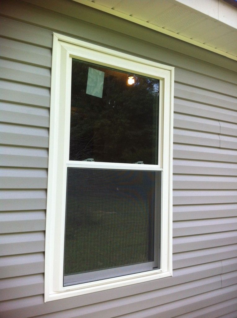 Install J Channel Around Windows And Doors For Vinyl Siding