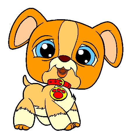 Dessin de chien en couleur - Animaux a imprimer en couleur ...