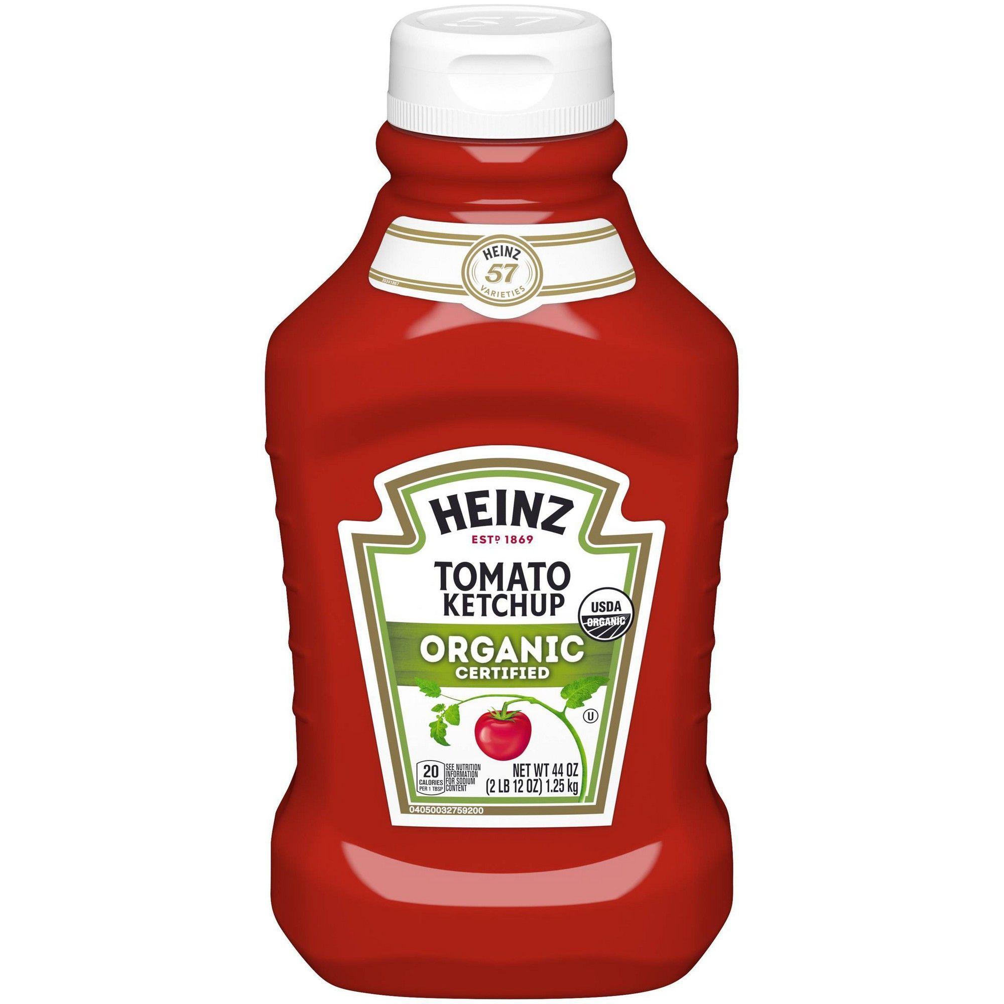 Heinz organic ketchup 44oz tomato ketchup ketchup