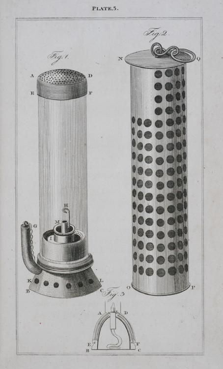 From A Description Of The Safety Lamp Invented By George Stephenson And Now In Use In Killingworth Colliery To Which Is Added An Account Of The Erfindungen