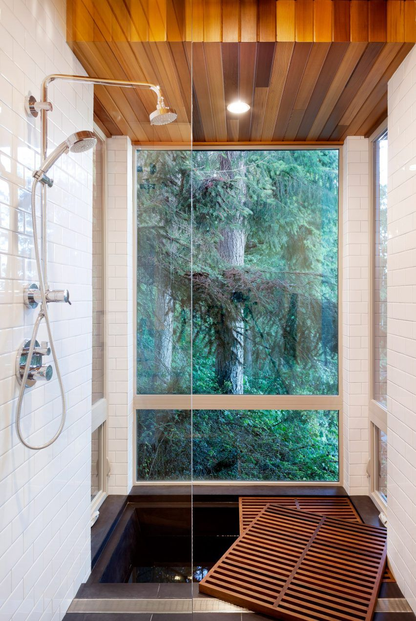 Herron Island cabin by First Lamp Architects   tiny home bathroom ...