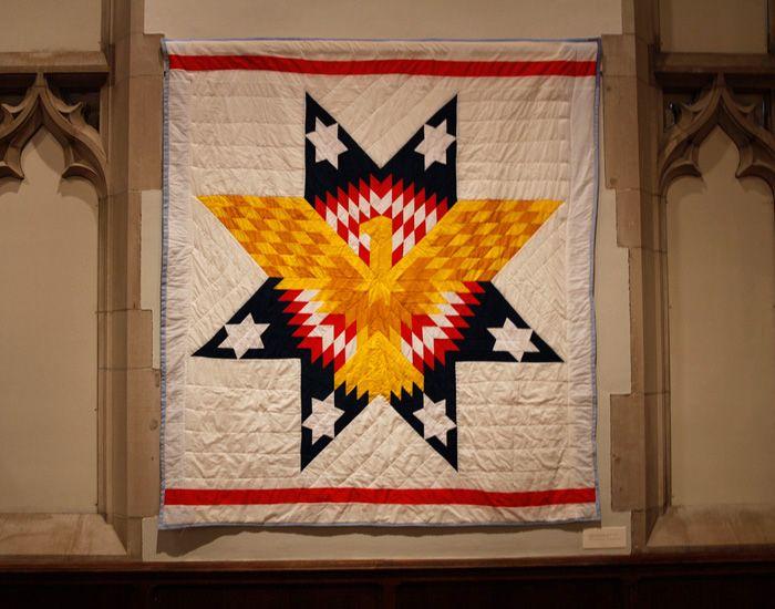 Creating · Quilts Of The Lakota — Arthur Ross Gallery, Quilt by ... : lakota star quilts - Adamdwight.com