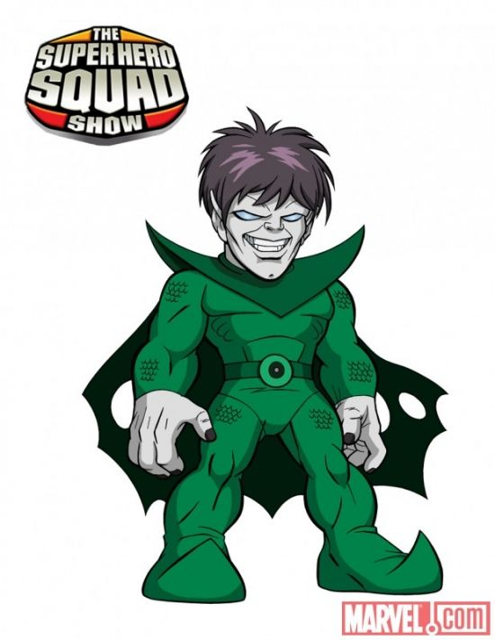 nightmare from the super hero squad show just things