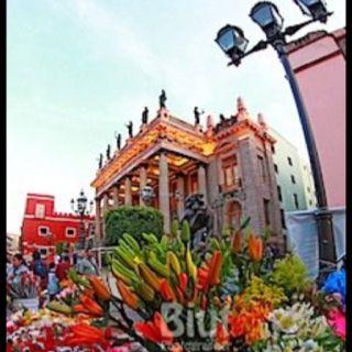 Teatro Juárez, Guanajuato, México. Dia de las flores by El biut