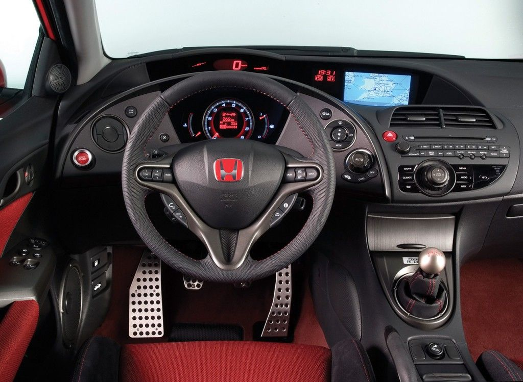 The Honda Civic Type R Interior Araba Arabalar Motosikletler