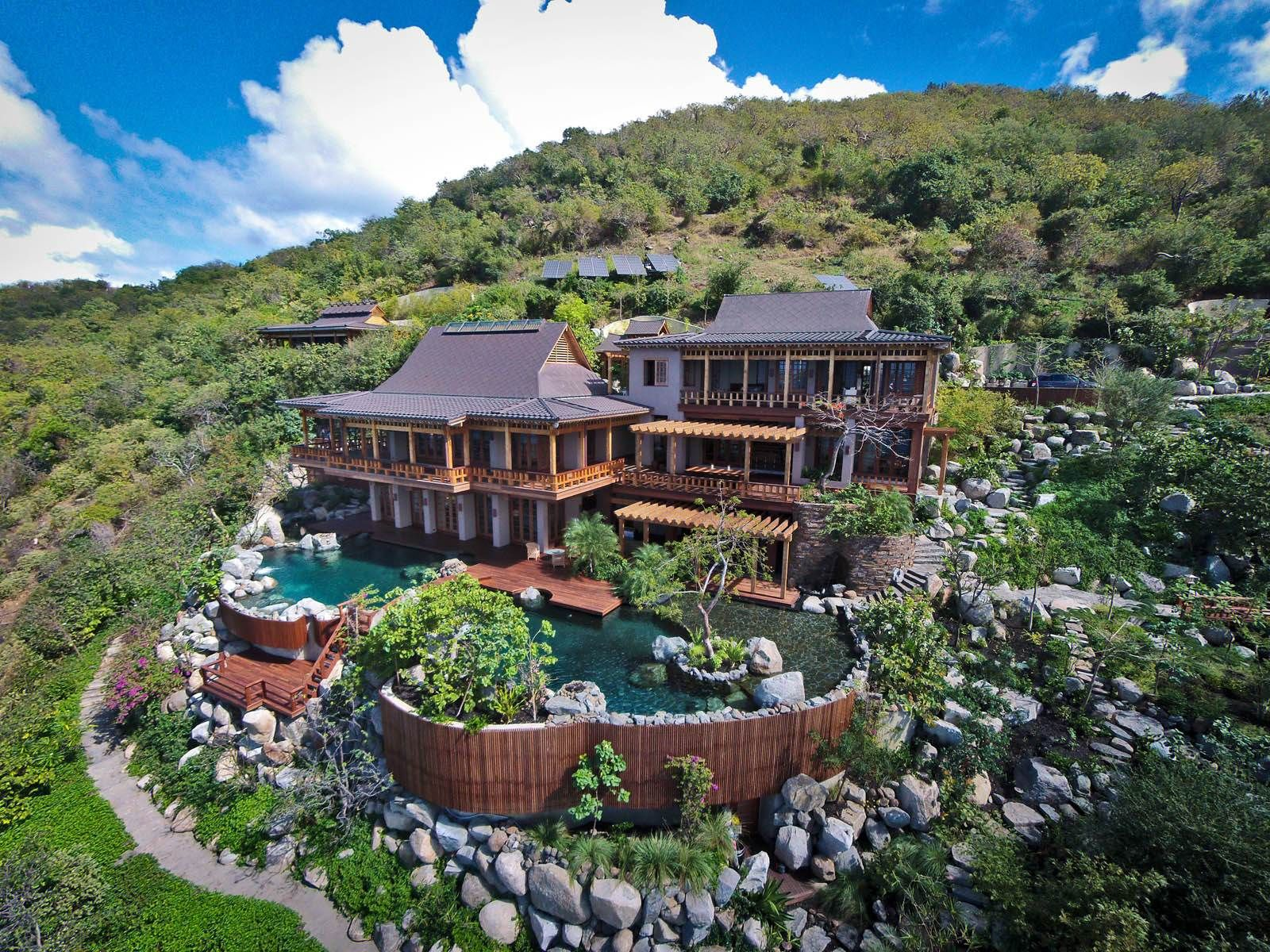 View This Luxury Home Located At Villa Katsura Other Virgin Gorda Virgin Gorda British Virgin Islands Sotheby 39 S International Realty Gives You ออกแบบบ าน