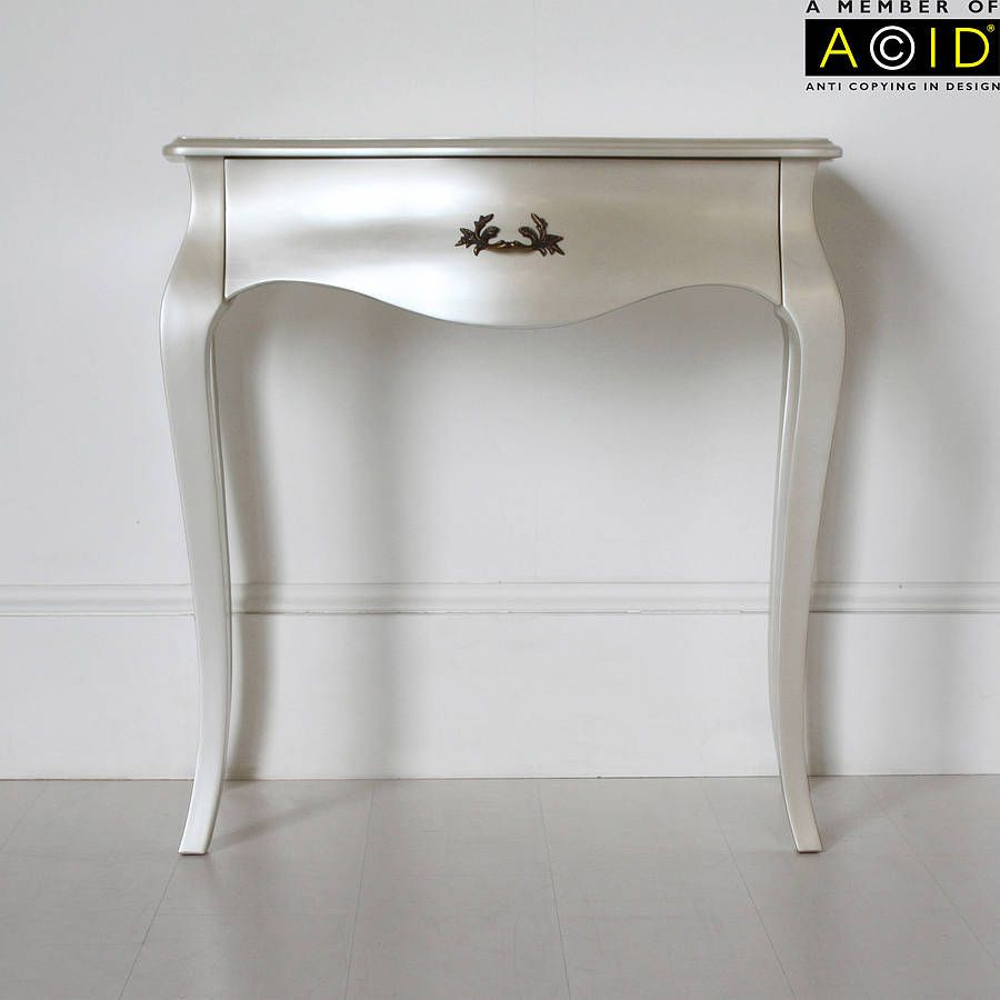 elegant console table. Curvy Small Console Or Dressing Table  Hallway Office