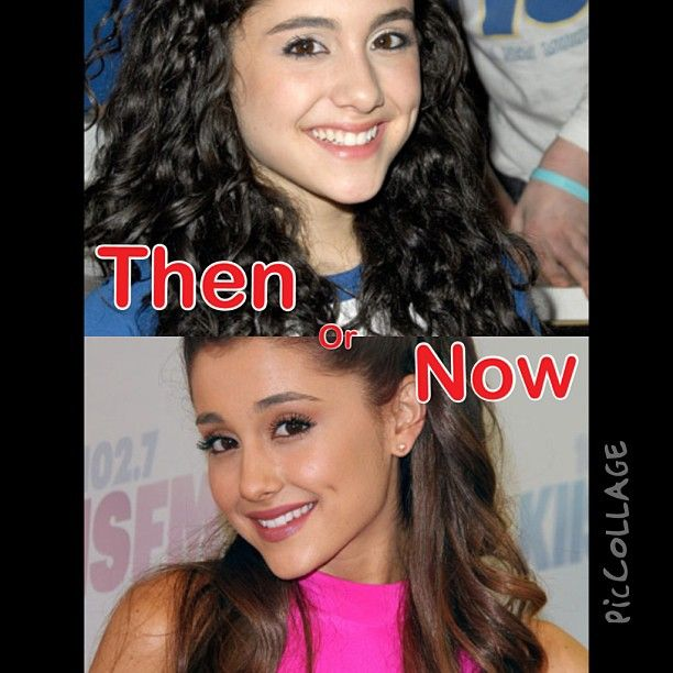 Ariana Grande then or now? by thenandnow_1