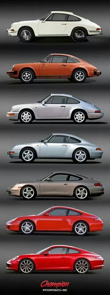 Air-cooled generation   cars   Pinterest   Porsche 911, Cars and ...