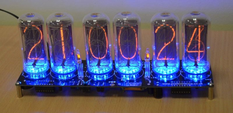 IN 18 Nixie Tube Clock Kit No Tubes LTC18