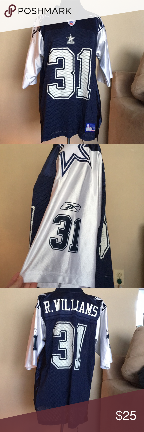f477dccd4 Roy Williams Dallas Cowboys NFL Jersey Dallas Cowboys Reebok Roy Williams  Jersey #31 R. Williams Reebok Other