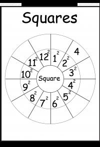 Squares Worksheet