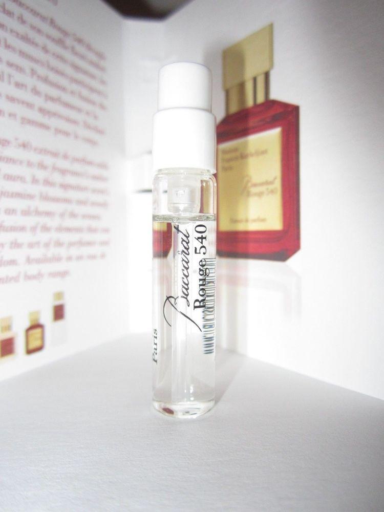 Maison Francis Kurkdjian Baccarat Rouge 540 Extrait Edp Sample Spray