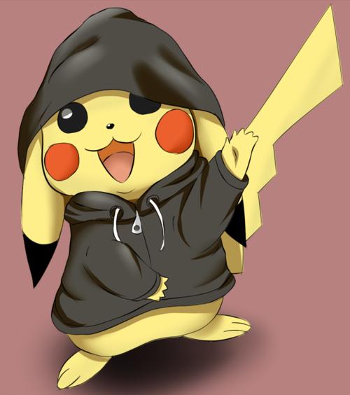 Cute Pikachu Love   Love this super cute Pikachu in a ...
