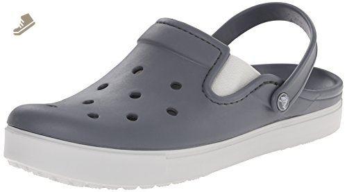 crocs Citilane Clog, Unisex - Erwachsene Clogs, Blau (Navy/White), 38/39 EU