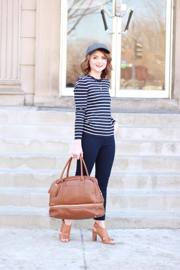 faee8e81b6a Poor Little It Girl - Gap Navy and White Striped Sweater