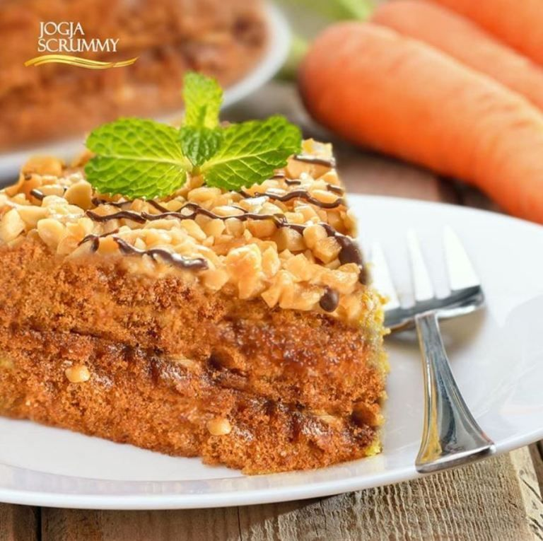 Premium Carrot Cake Peanut Resep Masakan Masakan