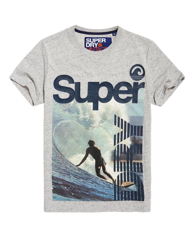 c177286af6cc5 Мужские - Ретро Surf футболка в Pebble Grey Grit   Очень сухой   T ...