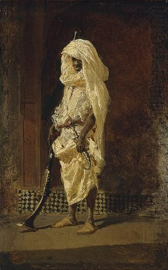 Moroccan soldier, Maria Fortuny i Marsal