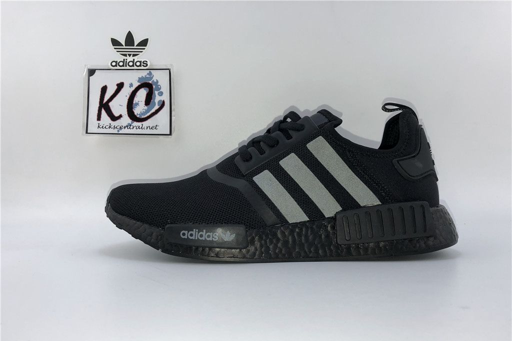 "check out 21700 cf774 Adidas NMD R1 Mesh 3M ""Triple Black"" S31508 