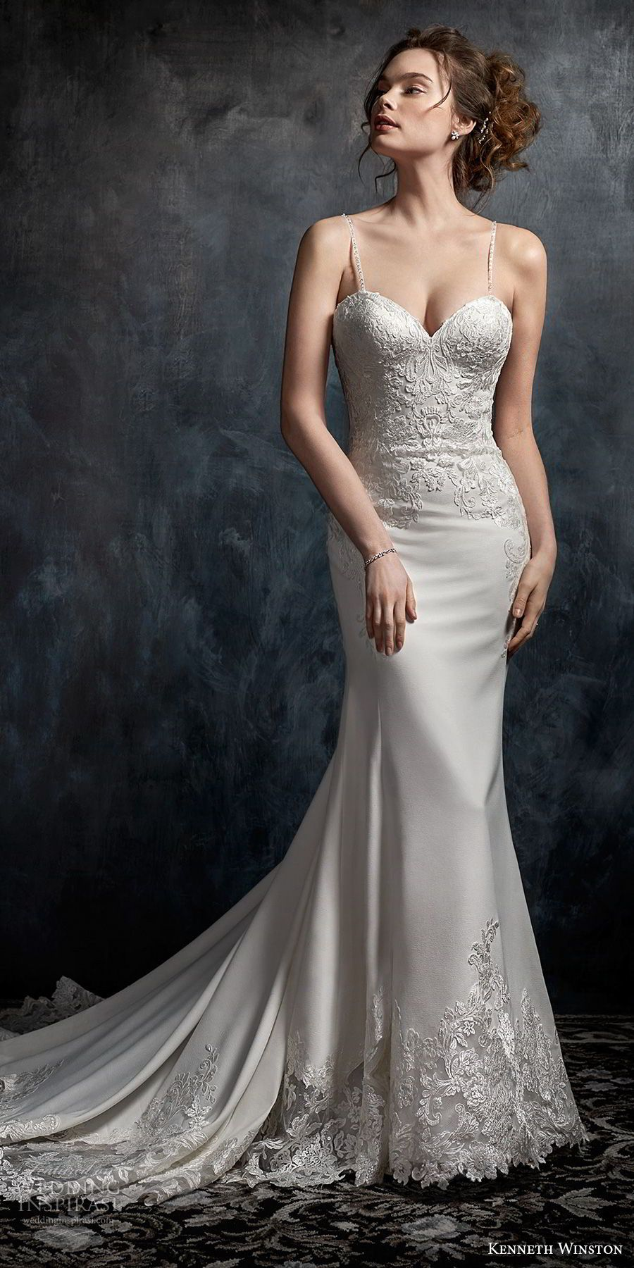 Kenneth Winston Fall 2017 Wedding Dresses   Chapel train, Bodice and ...