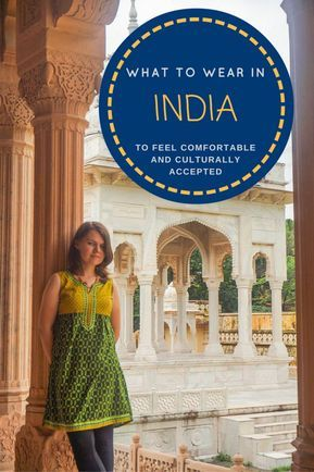 How to dress in India Pin