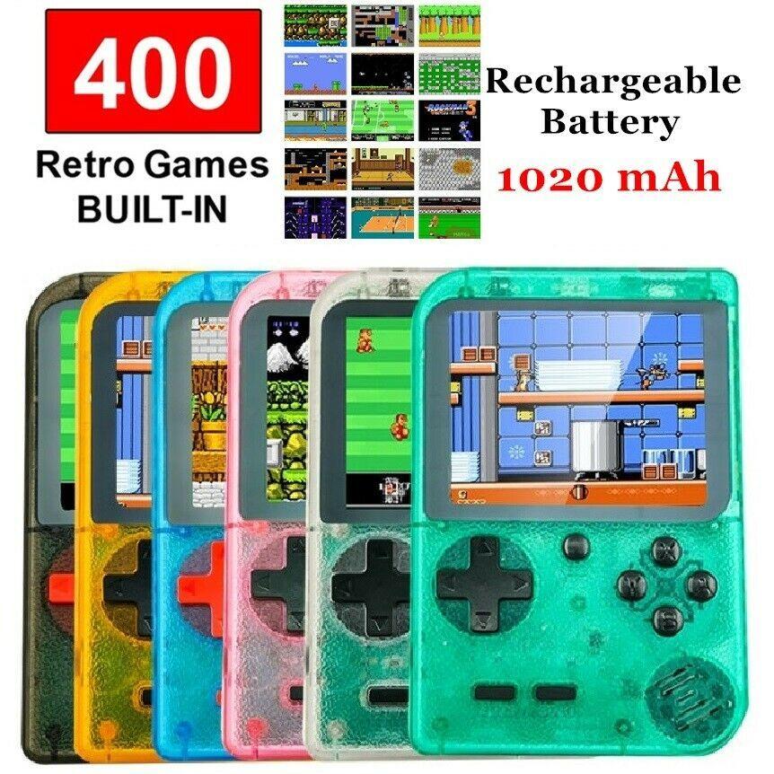Handheld Retro Game Console 8 Bit 400 Classic Games 3