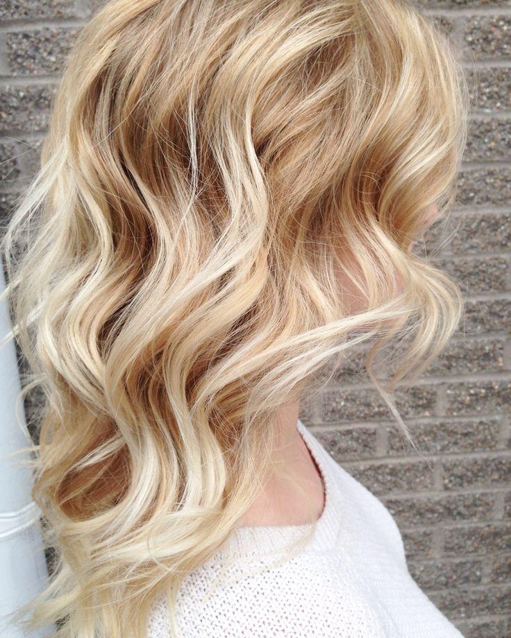 Love This Golden Medium Blonde Color