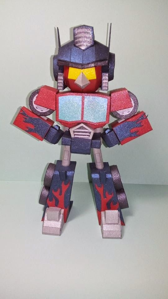 ZRP Papercrafter: ANGRY BIRDS TRANSFORMER - RED BIRD OPTIMUS PRIME ...