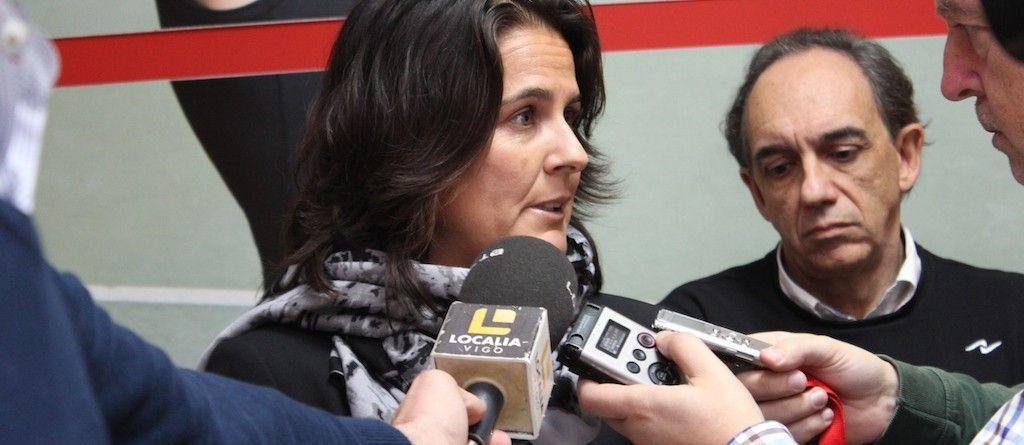 Conchita Martínez visita la sede central de Naffta
