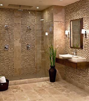 Bathroom Floor And Shower Tile Combinations