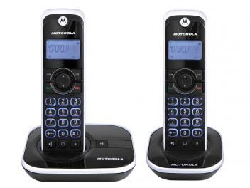Telefone Sem Fio Motorola até 5 Ramais - Identificador de Chamadas Gate4500-MRD2