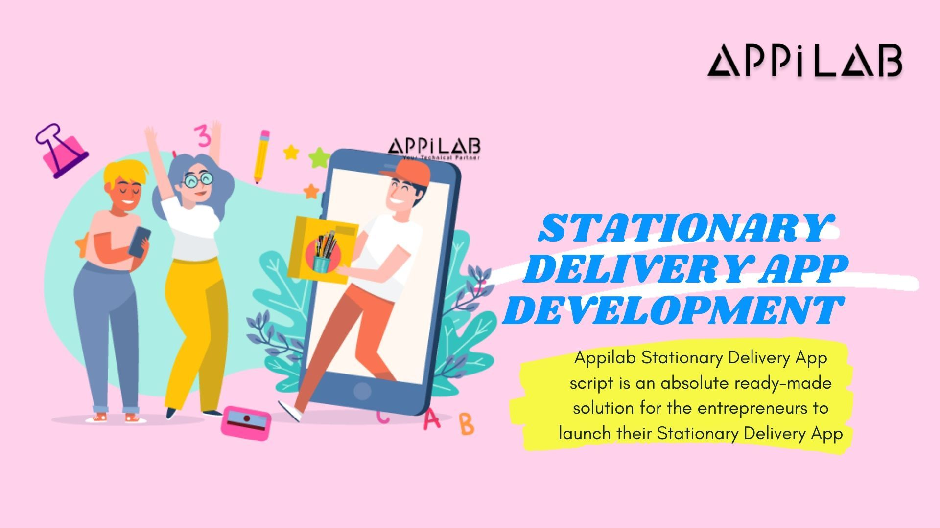 Uber for Stationary Delivery App Development Appilab in