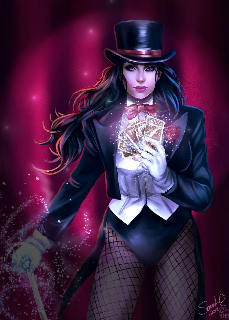 Lady Zatanna by KickStartDesigns on DeviantArt