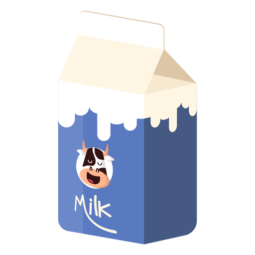 Labelkemasan: Milk Box Milk Cow Illustration