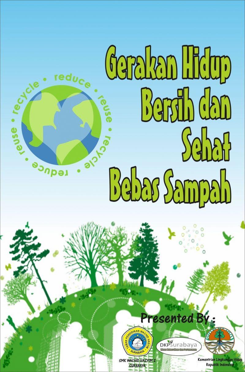 50 Contoh Poster Dan Slogan Bertema Lingkungan Menarik Kreatif