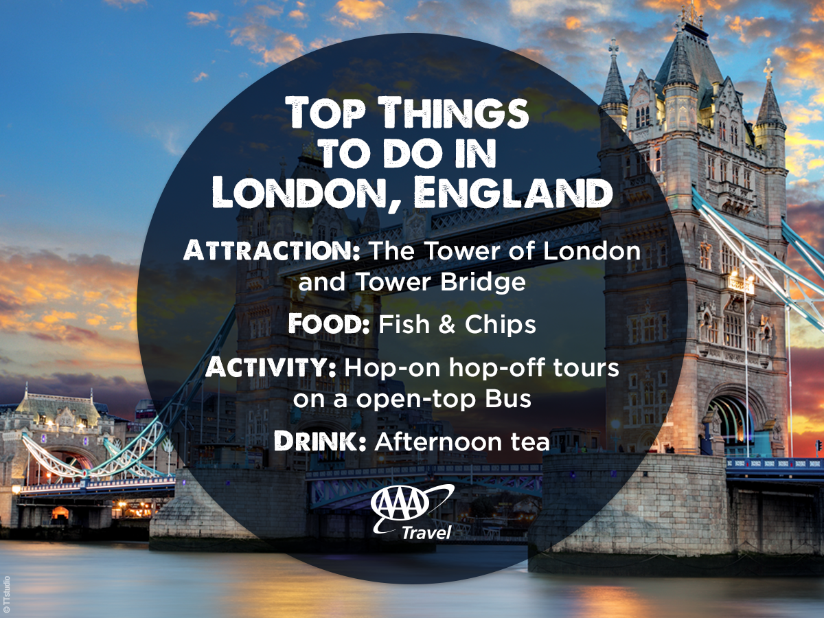 Check out these top things to do in London AAAcomTravel