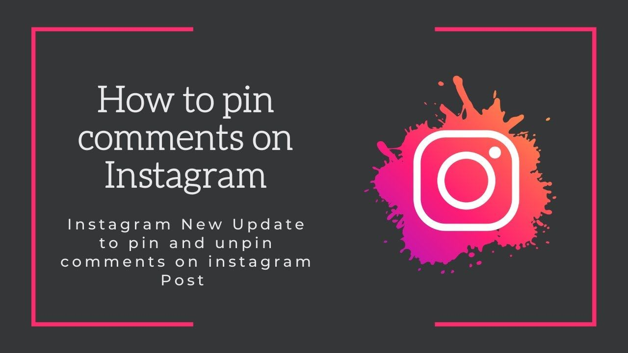 Instagram New Features How To Pin Comments On Instagram Post Android Instagram Posts New Instagram Instagram New Feature