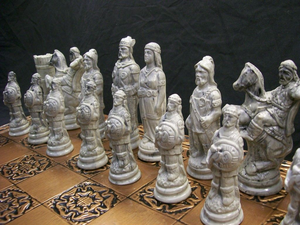 Viking Chess Set Leah S Den Viking Chess Chess Set Chess