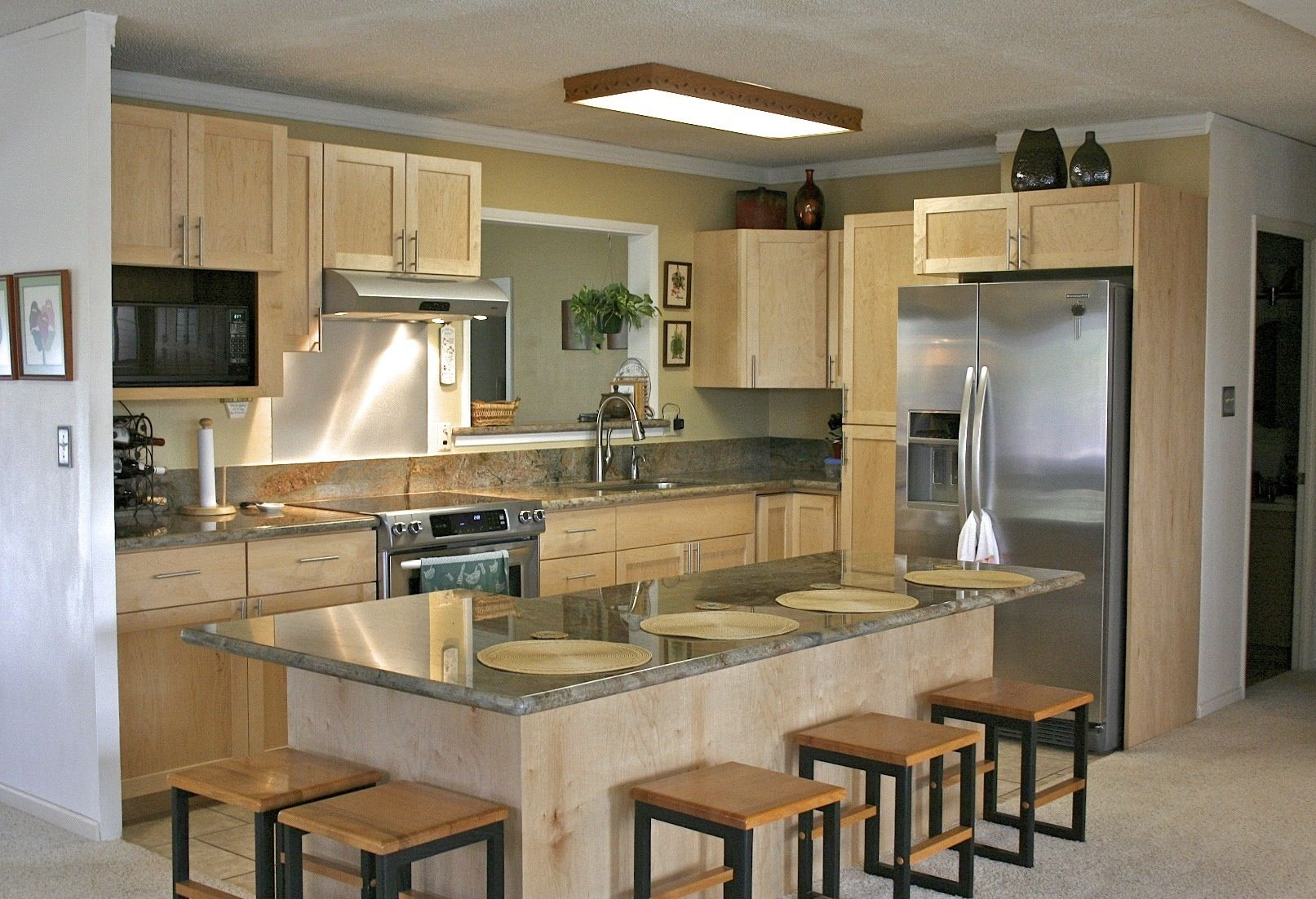 for latest kitchen design trends current spacious trend designs ...