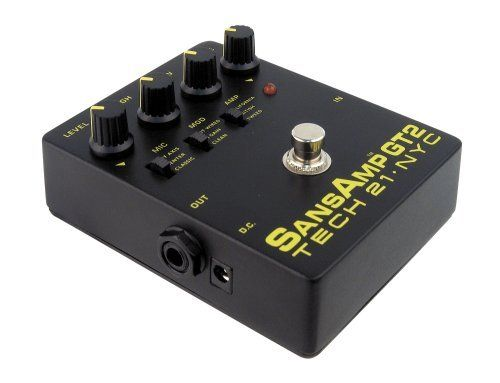 Tech 21 Gt2 Sansamp Gt2 By Tech 21 189 00 Architecturally Create Your Own Custom Rig In Seconds Mix And Match In Guitar Pedals Instruments Effects Unit