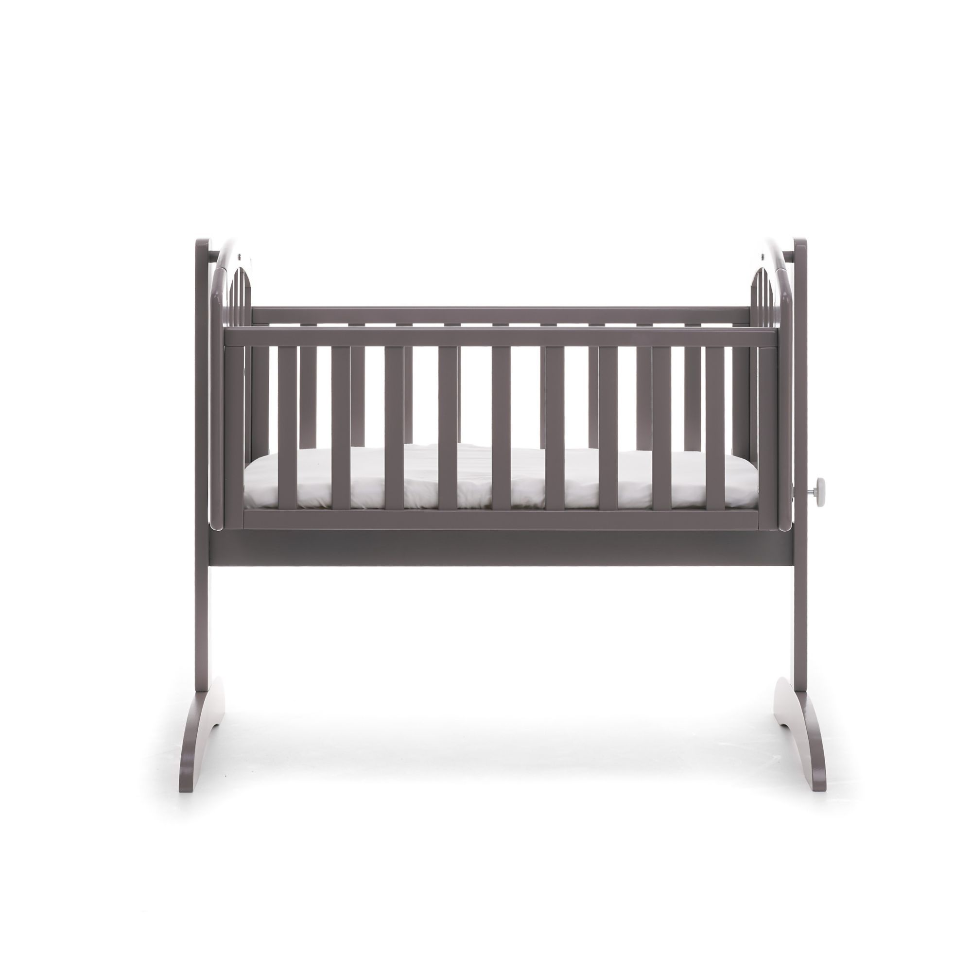 new products 33703 f475d Obaby sophie swinging crib & mattress - taupe grey | baby ...