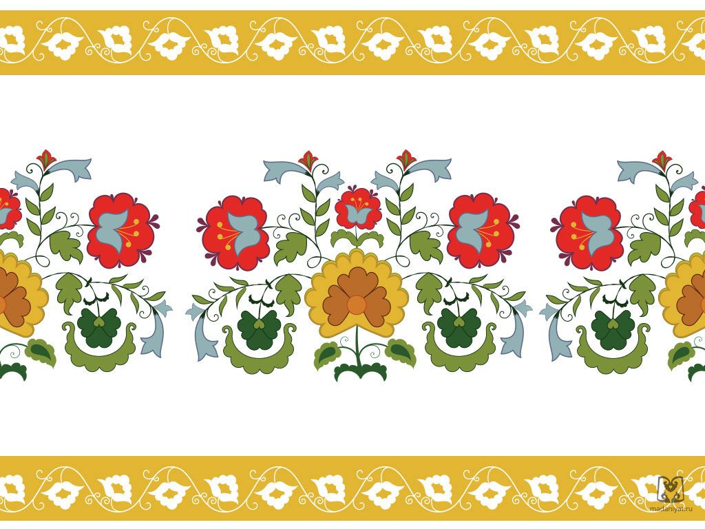 Картинка татарского орнамента